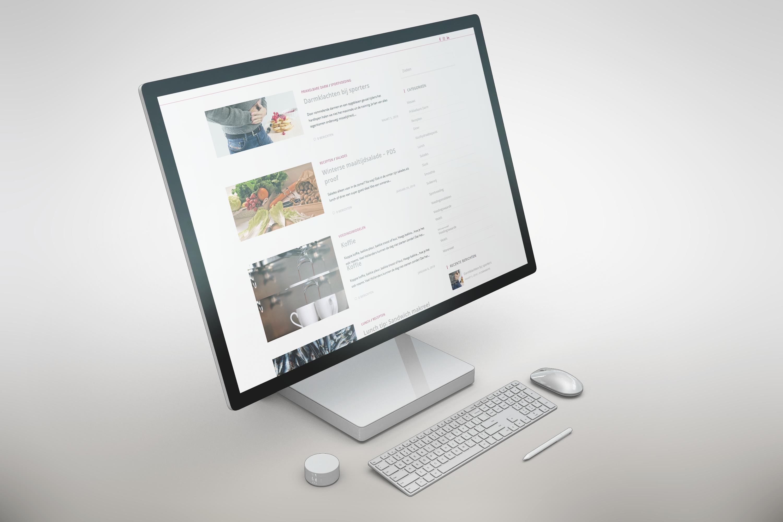 Mock-up website carasvoeding.nl